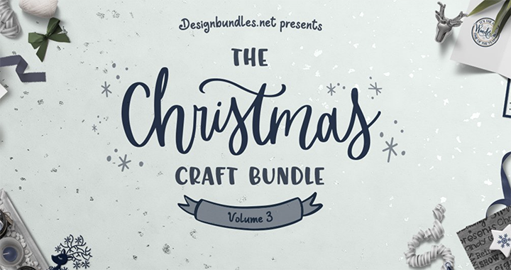 Handmade Christmas Gift Ideas from Design Bundles