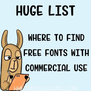 Where to Find Free Fonts with Commercial Use License