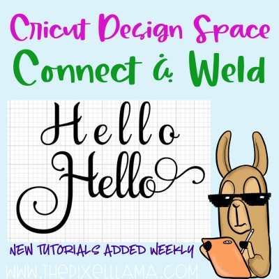 Learn to Connect and Weld in Cricut Design Space