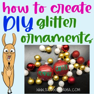 DIY – How to Create Glitter Ornaments