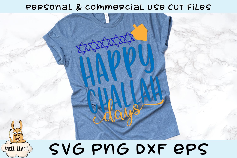 Happy Challah Days Hanukkah Svg Cut File Pixel Llama