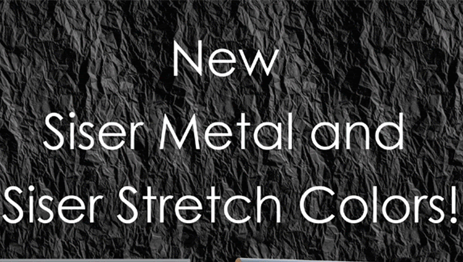 NEW! Siser Metal & Siser Stretch Colors