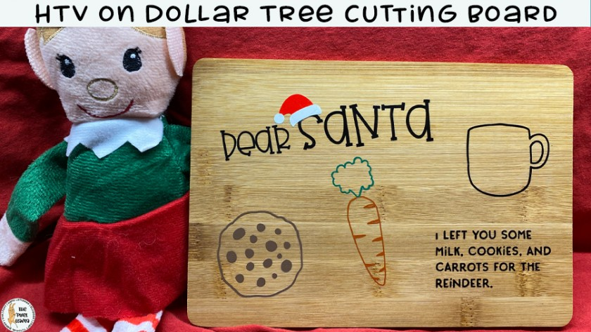 HTV on Dollar Tree Cutting Boards