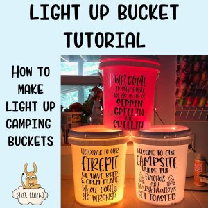 Light Up Bucket Tutorial