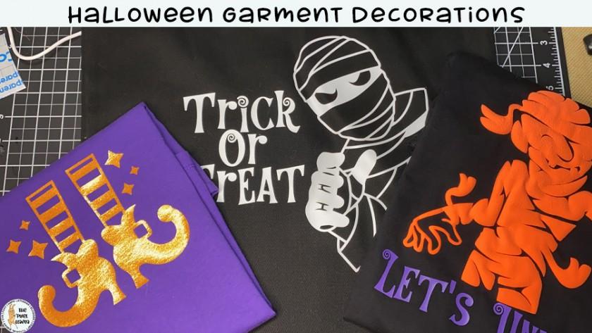 Halloween Garment Decorations